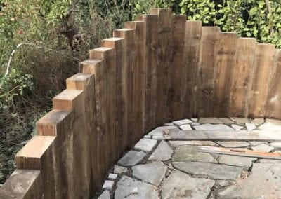 Patio Sleeper Design in Foxrock Area, County Dublin