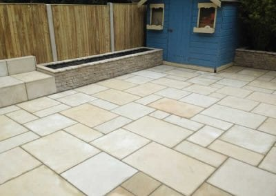 Limestone Patio in Dundrum