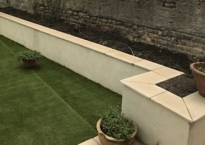 Synthetic Grass Edge Laid in Stillorgan, County Dublin